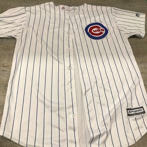 1be801460 Majestic Other - CUBS RIZZO Jersey Youth XL